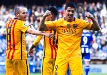 Deportivo La Corogne - FC Barcelone 0-8, la MSN relance le Barça