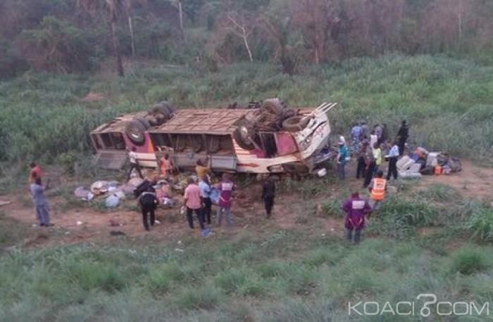 Côte d'Ivoire: Au moins 10 morts dans l'accident d'un car sur l'autoroute du nord