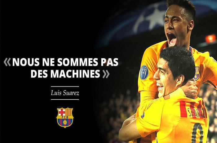 Suarez vole au secours de Neymar