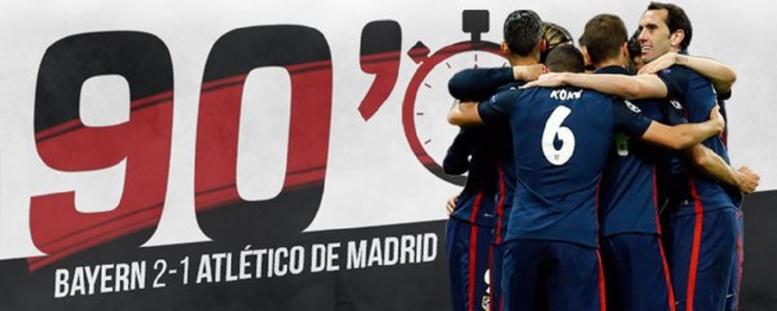 C1 : Atlético Madrid se qualifie en finale et attend son adversaire