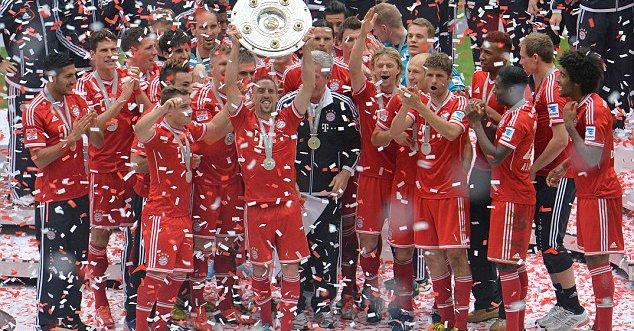 Le Bayern Munich champion d'Allemagne pour la quatrième fois d'affilée, après sa victoire à Ingolstadt (2-1)