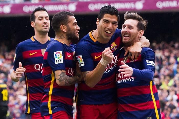 Liga: Fc Barcelone étrille Espanyol 5-0 et garde sa 1ère place