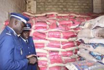 Riz impropre à la consommation humaine : 22.690 tonnes de riz brisé indien saisies par la gendarmerie nationale