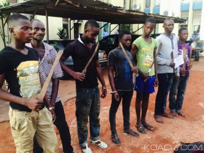 Côte d'Ivoire: Opération contre les microbes, plus de 200 interpellés, armes blanches et drogues saisies