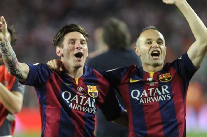 """Barça, Iniesta : """"Avoir Messi donne l'impression de jouer à 12"""""""