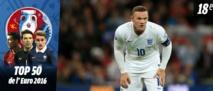 Euro 2016 : Wayne Rooney (Angleterre), 18e joueur le plus attendu