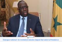 Dialogue national : les invitations lancées depuis hier selon la Présidence