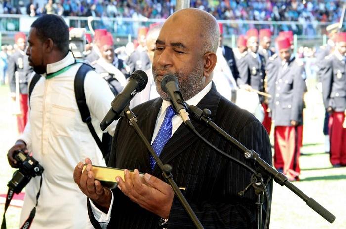 Comores: le Président Azali Assoumani a prêté serment