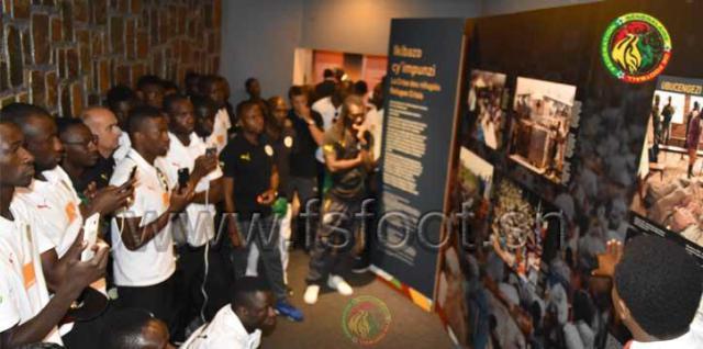 Rwanda: Les lions au Site du Mémorial du Génocide de Grisozi