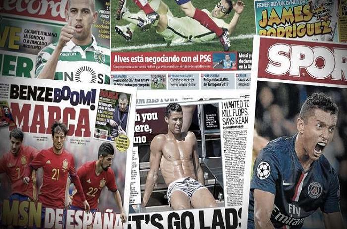 L'Angleterre fâchée contre Cristiano Ronaldo, la nouvelle offre du Barça pour Marquinhos