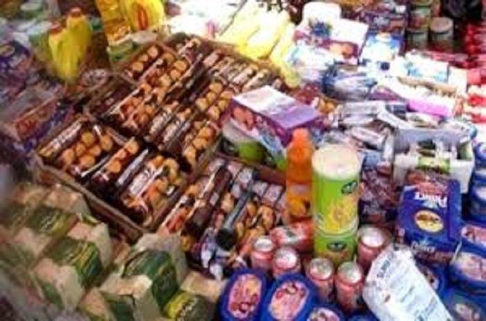 Diamniadio : la Douane opère une saisie record de produits impropres à la consommation
