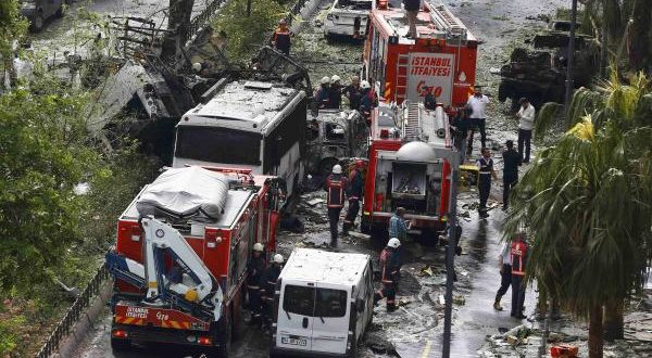 Turquie-Le centre d'Istanbul frappé par un attentat meurtrier à la bombe