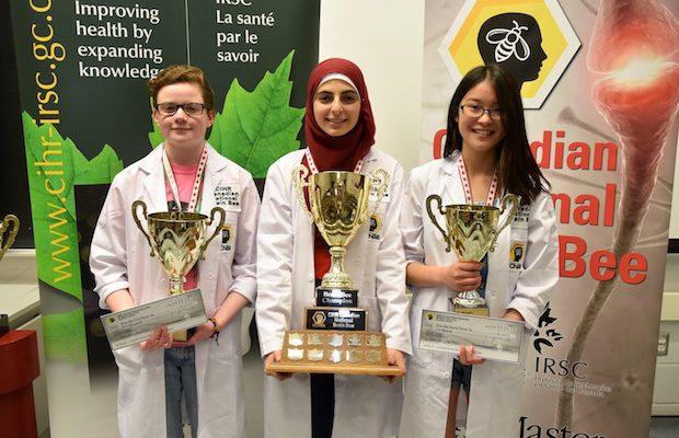 Une lycéenne musulmane reçoit le titre du « plus brillant cerveau au Canada » !