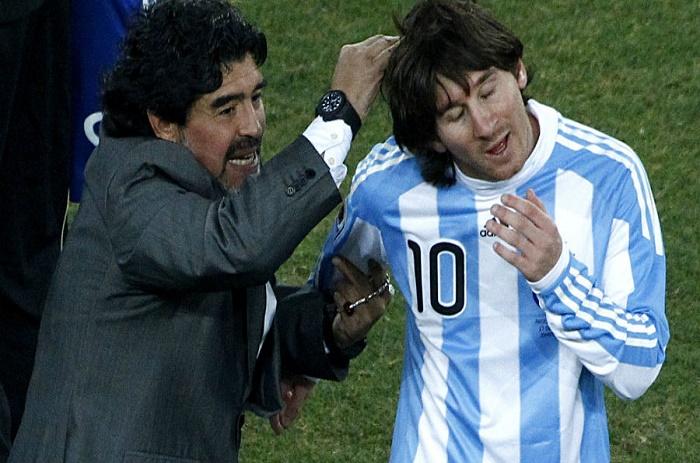 Messi refuse la guerre avec Maradona