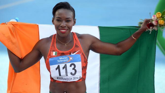 Athlétisme-L'Ivoirienne Ahouré bat le record d'Afrique du 100 m