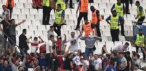 Euro: l'UEFA annonce que la Russie sera exclue au prochain incident