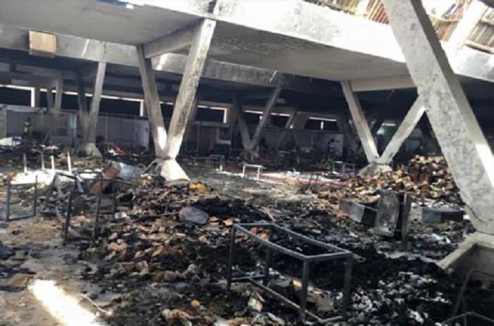 Cices : l'incendie qui a ravagé le Pavillon Vert reste toujours non élucidé
