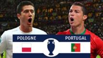 Pologne - Portugal : suivez en direct ce quart de finale de l'Euro-2016