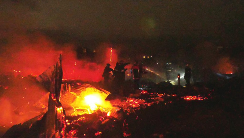 Madagascar: incendie meurtrier dans un quartier du centre d'Antananarivo