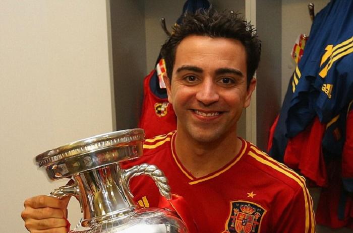Euro : Xavi choisi pour remettre le trophée