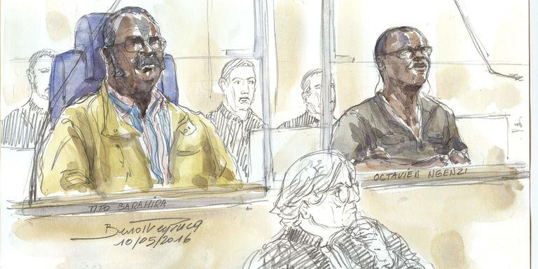 Génocide rwandais : deux anciens bourgmestres condamnés à perpétuité à Paris