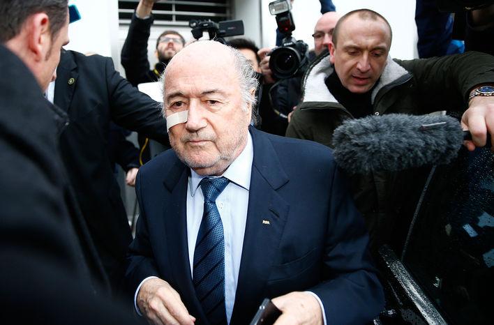 Sepp Blatter opéré d'un cancer de la peau