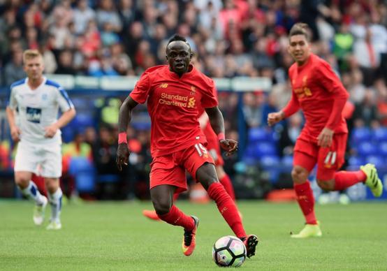Premier match amical avec Liverpool: Sadio Mané séduit déjà