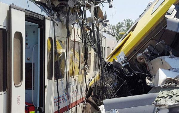 Italie-Collision frontale entre deux trains : Bilan 14 morts et 34 blessées (Bilan provisoire)