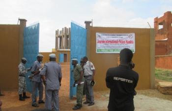 Ouagadougou: la maison d'arrêt bénéficie d'une nouvelle aire de promenade pouvant contenir 600 détenus