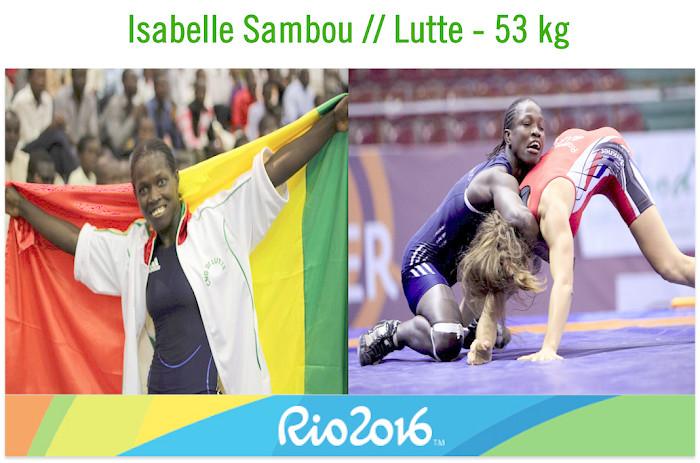 JO de Rio 2016 : Isabelle Sambou désignée porte drapeau de la délégation sénégalaise