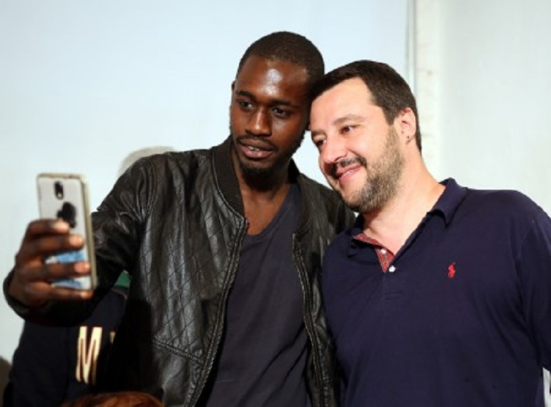 Italie: menacé de mort pour son soutien à Matteo Salvini, Paolo Talla Diop se défend