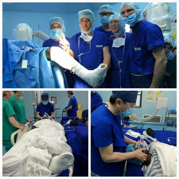 """Images: l'opération de Demba BA est """"un succès"""""""