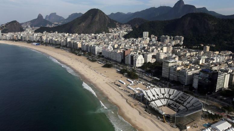 Les virus sont légion dans les eaux brésiliennes. REUTERS/Ricardo