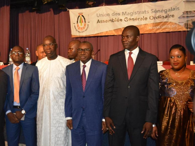 Assemblée Générale de l'UMS : Me Sidiki Kaba rassure les magistrats