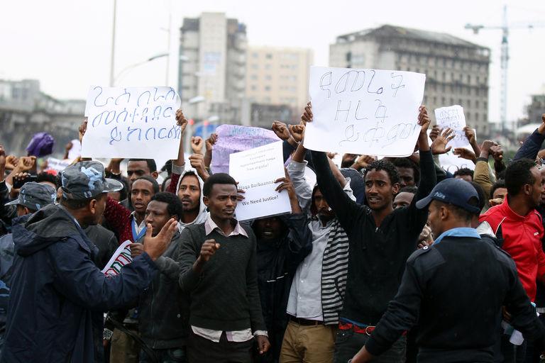Éthiopie : une centaine de morts dans la répression des manifestations antigouvernementales