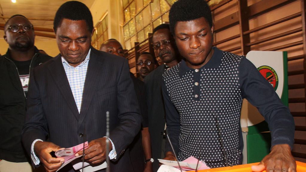 Elections en Zambie: affluence à l'ouverture des bureaux de vote