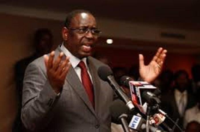 APR - Macky toutes griffes dehors: «Je vais sanctionner ceux qui ne respectent pas les directives du parti»