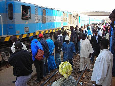 Accident - Thiaroye: le train éparpille le corps d'une dame