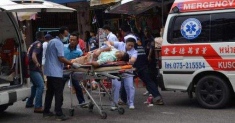 La Thaïlande frappée par plusieurs attentats à la bombe