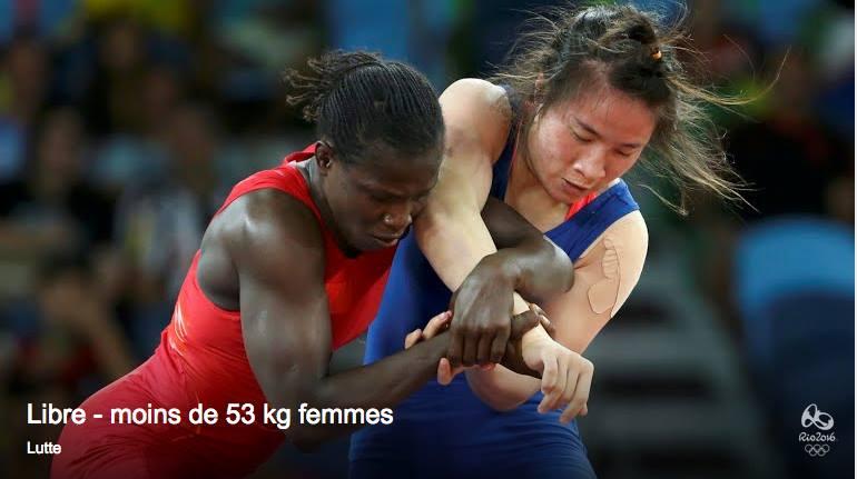 JO Rio 2016 - Lutte libre: repêchée, Isabelle Sambou rentre en lice