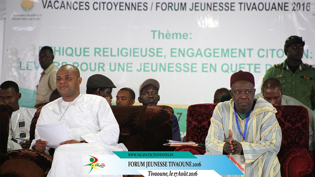 Caravane Vacances citoyennes : DECLARATION  ISSUE DU FORUM DE TIVAOUANE