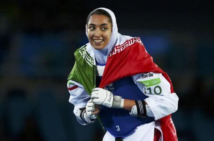 JO RIO-Zenoorin, première femme iranienne à remporter une médaille olympique