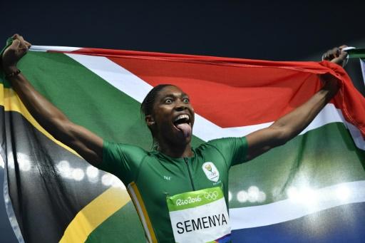 JO-2016/800 M : LA SUD-AFRICAINE CASTER SEMENYA CHAMPIONNE OLYMPIQUE