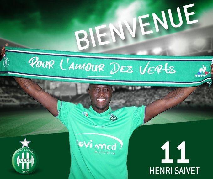 Officiel : Henri Saivet à Saint-Étienne !