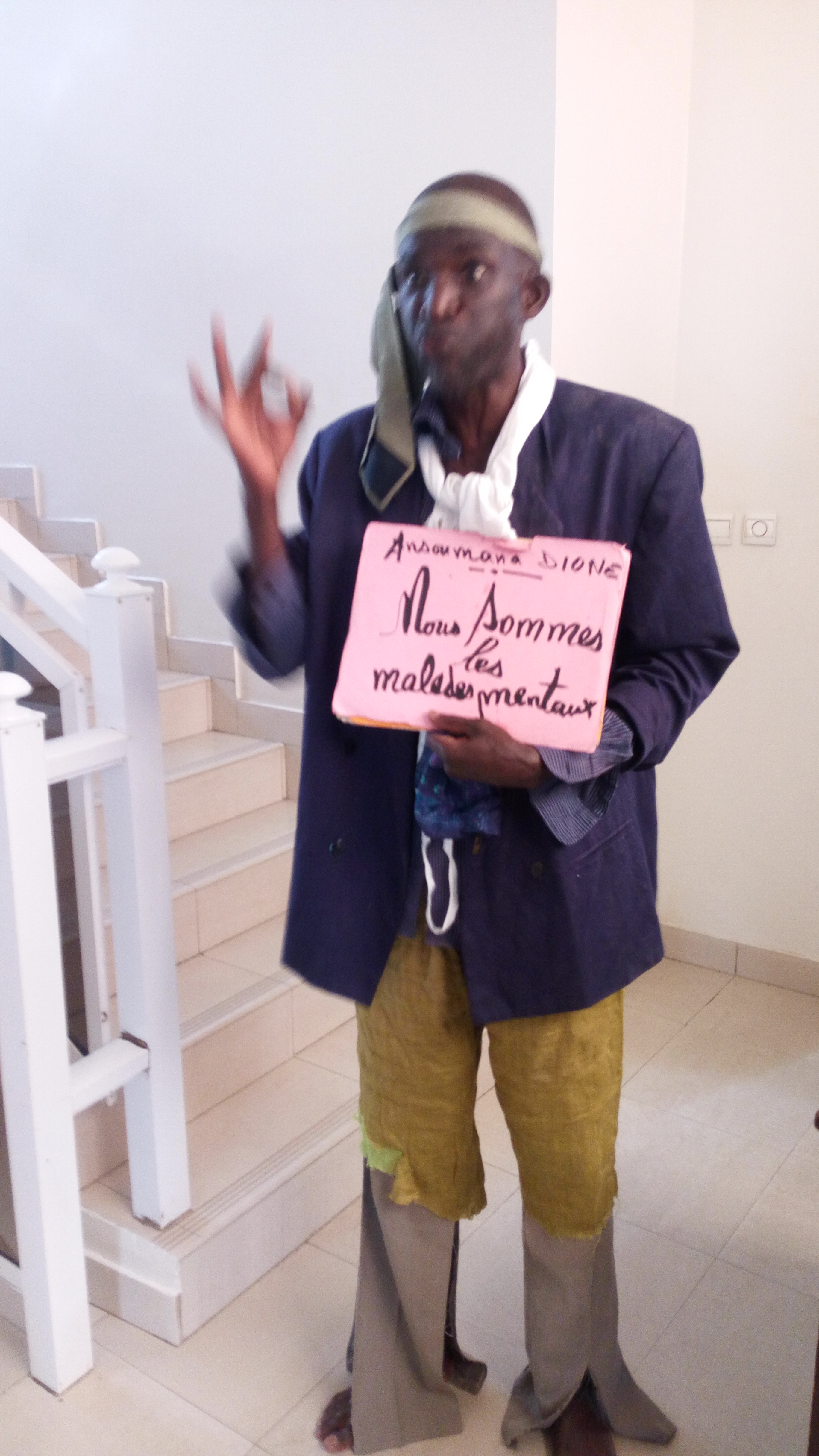 """ASSAMM - Ansoumana Dione: """"Nous sommes des malades mentaux"""""""