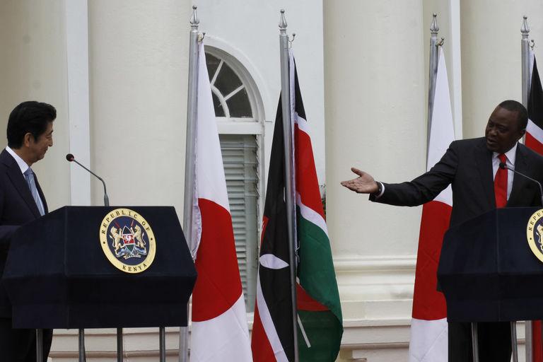 A Nairobi, le Japon part à la conquête de l'Afrique
