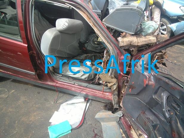 Carambolage sur l'Autoroute: 7 blessés dont des cas critiques