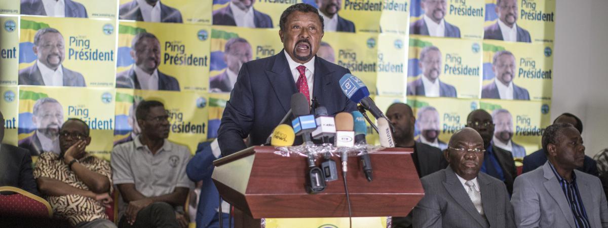 """Gabon : pour Jean Ping, les résultats de la présidentielle """"sont tellement grossiers..."""""""