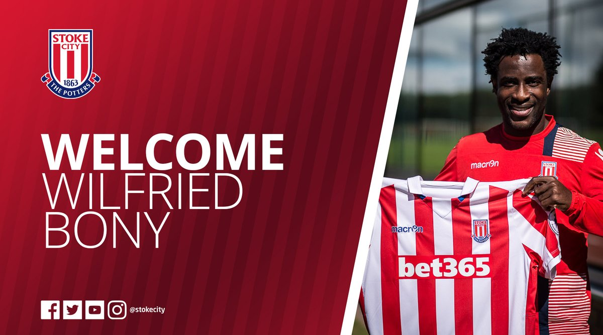 Wilfried Bony prêté à Stoke City (officiel)