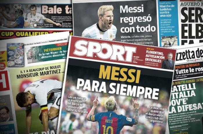 Le rêve du Barça pour Messi, la pique de Bale à Pogba